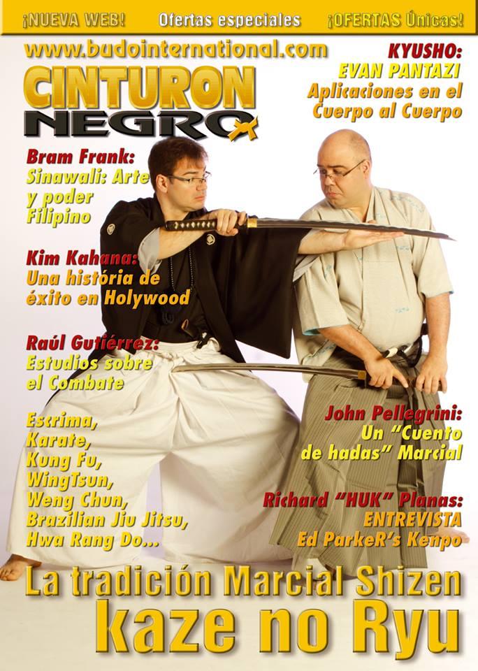 portada revista artes marciales